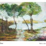 Rêve : Huile sur toile 55x38cm