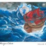 Musique Célèste : Huile sur toile 65x50cm